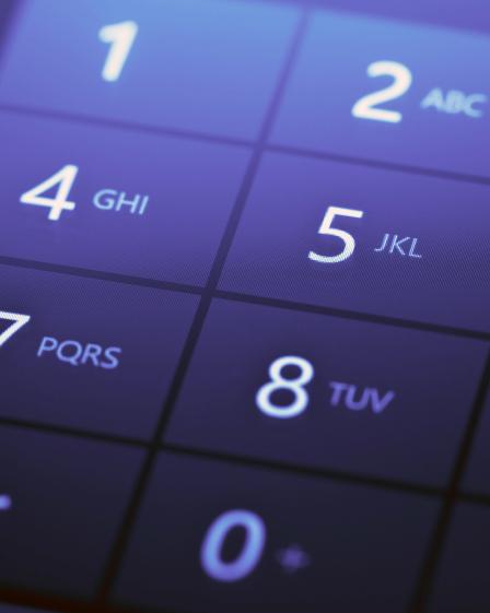 numberpad cellphonepurple